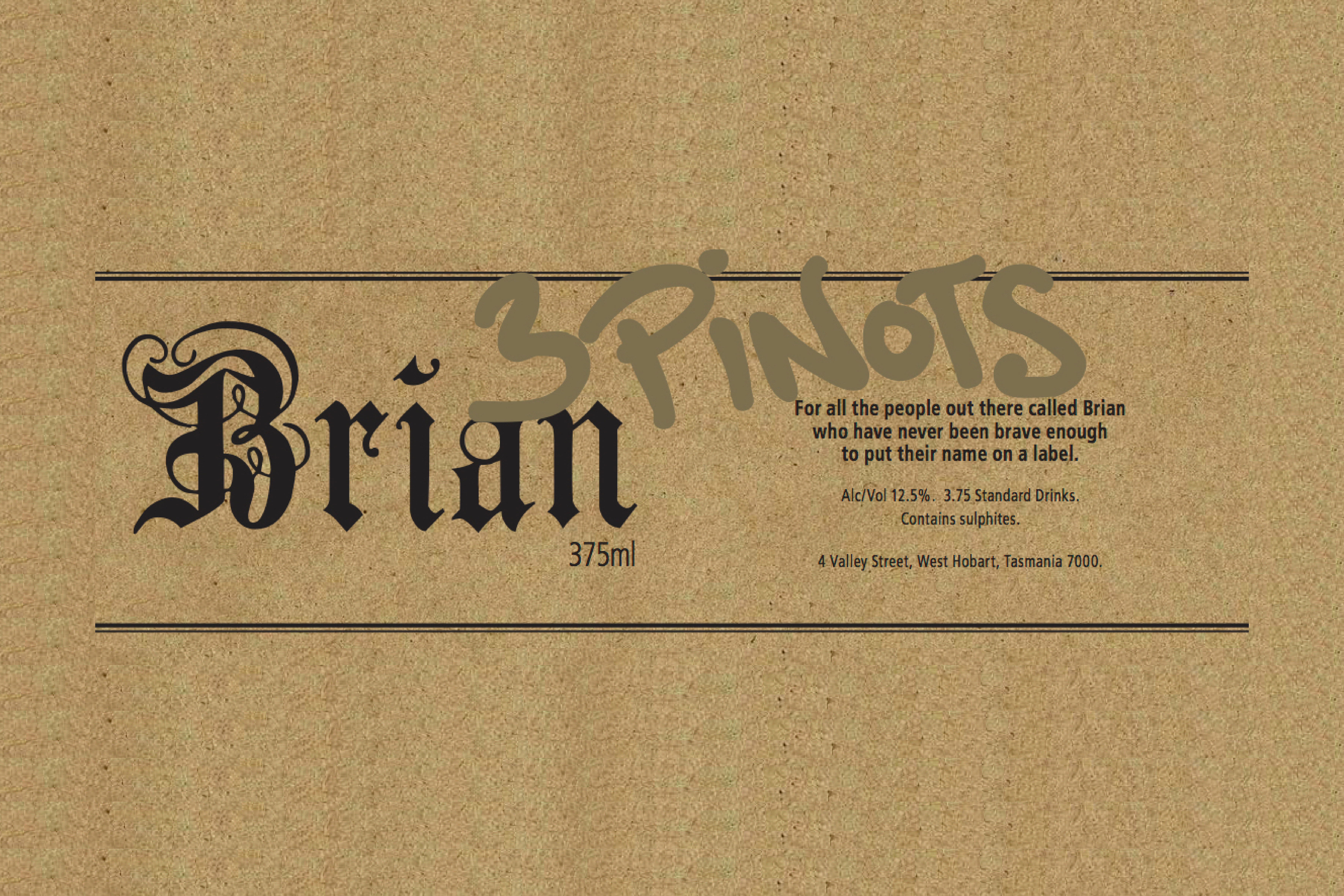 Brian – new release from Oregon
